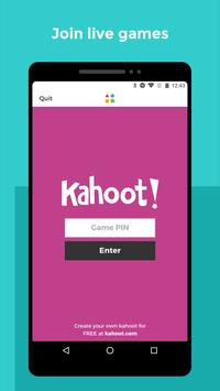 Kahoot! captura de pantalla de la apk