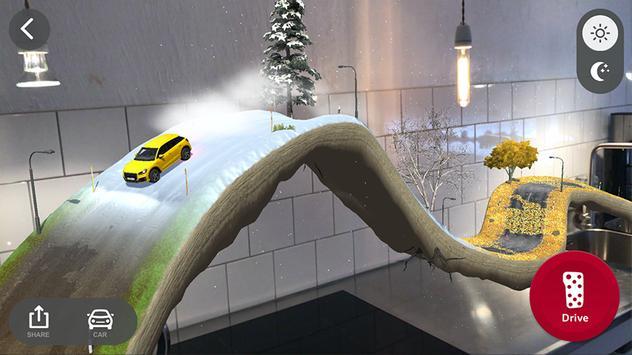 Audi quattro® coaster AR poster