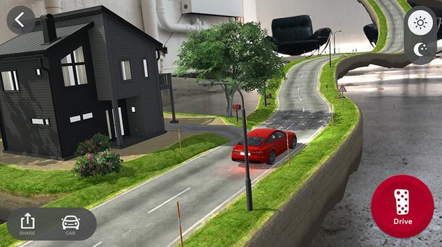 Audi quattro® coaster AR screenshot 3