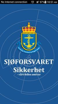 SJØ-RAPP poster