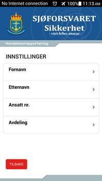 SJØ-RAPP apk screenshot