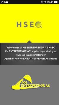 KN HSEQ poster