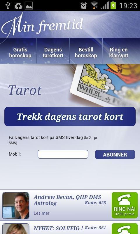 gratis horoskop