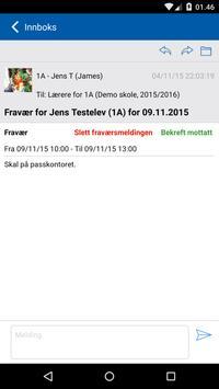 Meldeboka (ansatt) - Trondheim apk screenshot