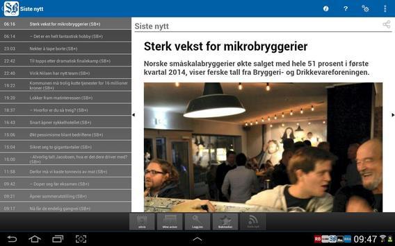 Sandefjords Blad apk screenshot