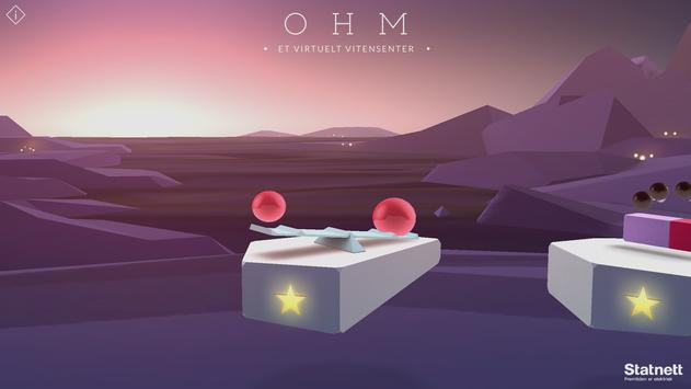 OHM - A virtual science centre poster