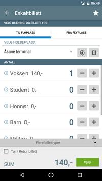 Flybussen Bergen billett apk screenshot
