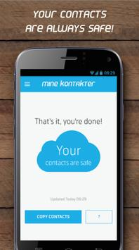 Mine Kontakter apk screenshot