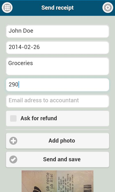 send receipts free apk download free business app for android