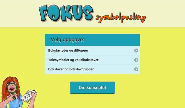 FOKUS symbolpusling apk screenshot