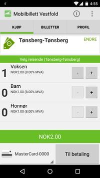 VKT Mobilbillett apk screenshot
