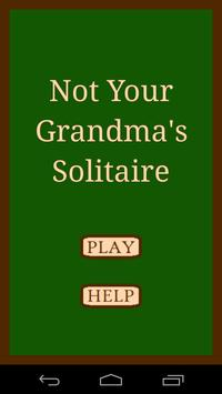 Not Your Grandma's Solitaire poster