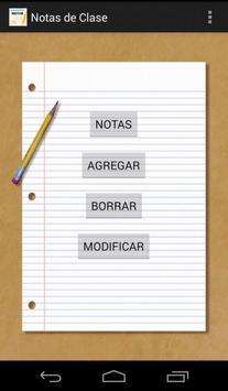 Notas de Clase poster