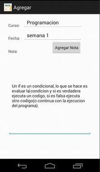 Notas de Clase screenshot 1