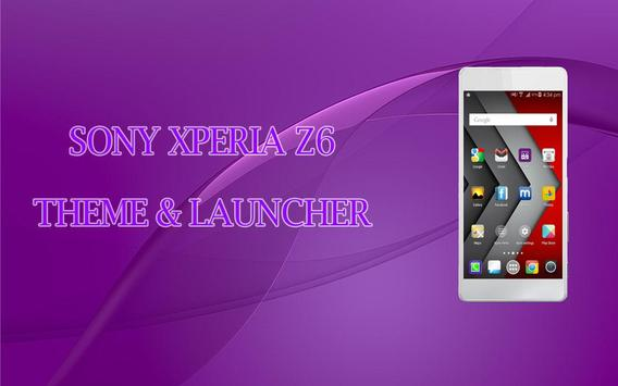 Z6 Launcher and Theme poster