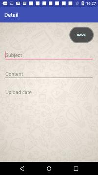 Encrypted Note Book screenshot 1