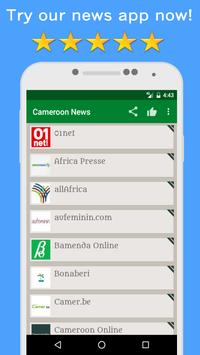 News Cameroon Online poster