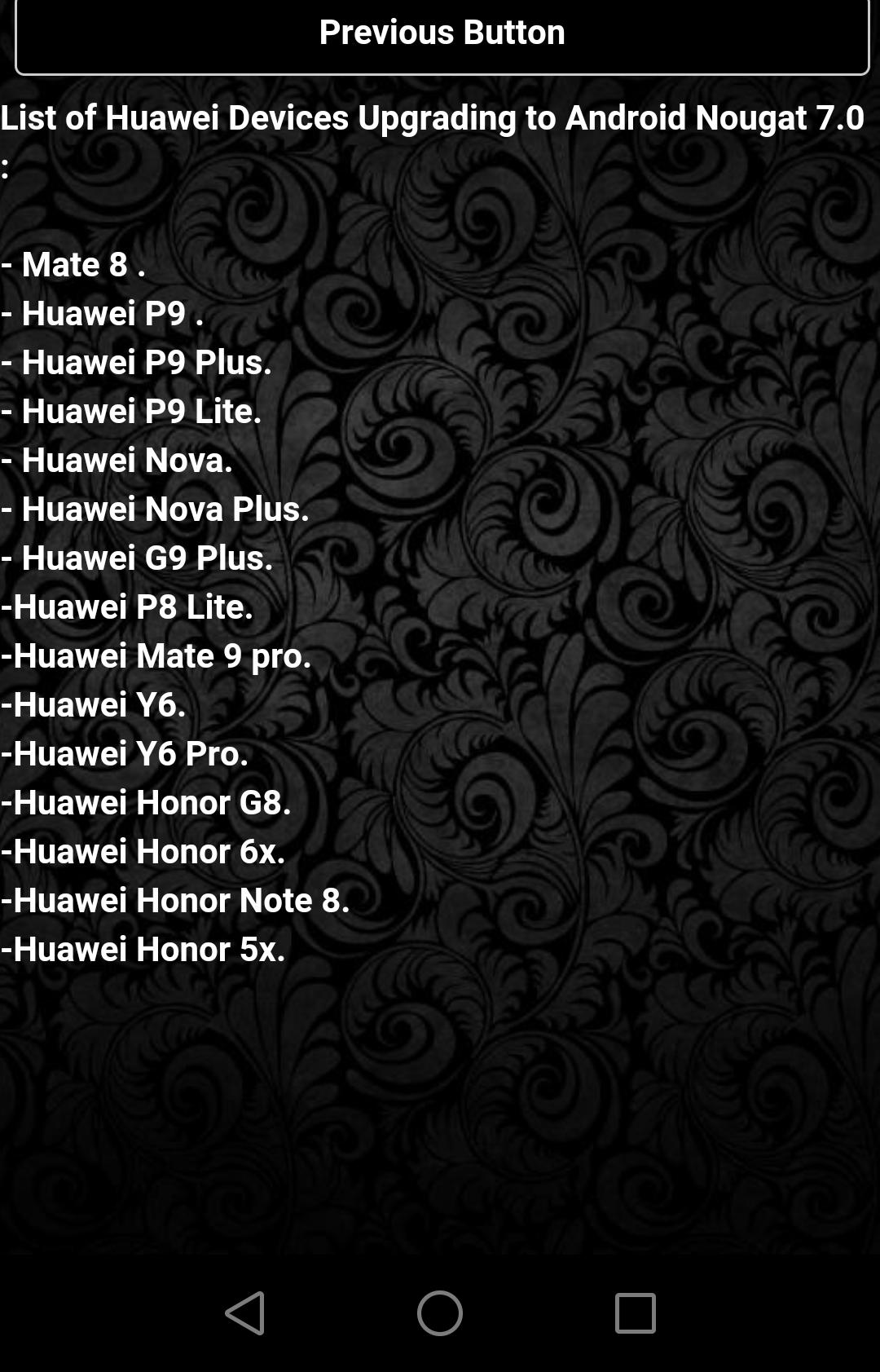 Nougat Update Huawei Guide for Android - APK Download