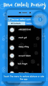 Recover Deleted Contacts screenshot 3