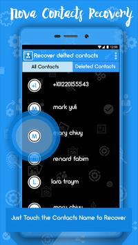 Recover Deleted Contacts poster