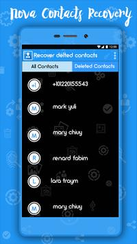 Recover Deleted Contacts screenshot 1