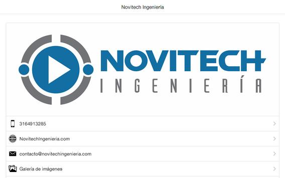 Novitech Ingeniería Ibagué apk screenshot