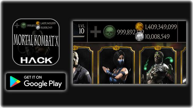 Hack For MORTAL KOMBAT X Cheats New Prank! screenshot 4