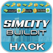 Hack For Simcity BuildIt Cheats New Prank! icon