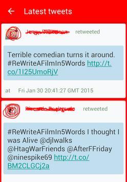 WhaTweets Twitter Trend Surfer apk screenshot