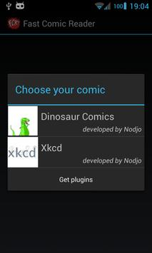 Fast Comic Reader poster