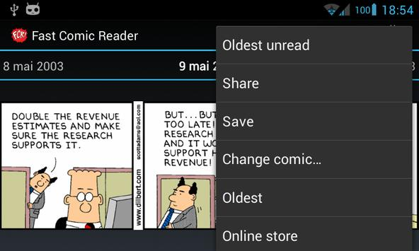 Dilbert plugin for FCR apk screenshot