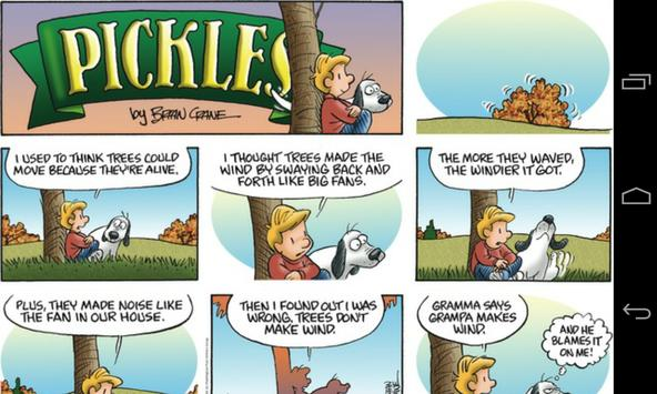 Pickles comic for FCR apk screenshot