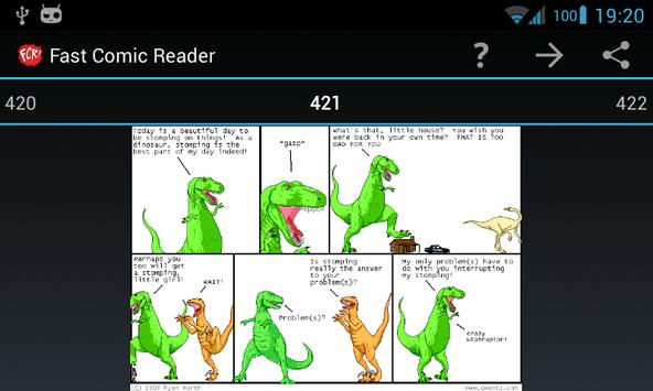 Dinosaur Comics plugin for FCR poster