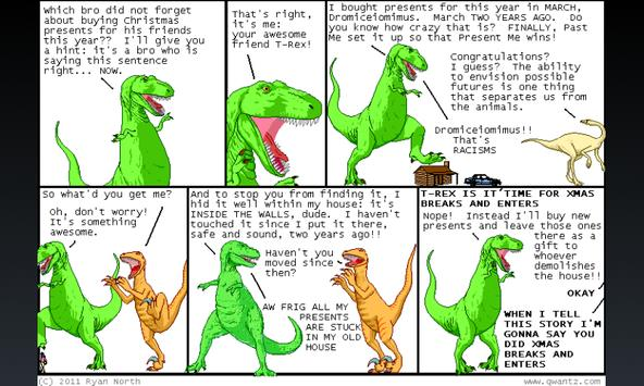 Dinosaur Comics plugin for FCR apk screenshot