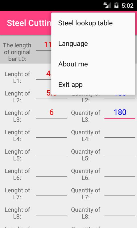 Steel cutting optimization Pro for Android - APK Download