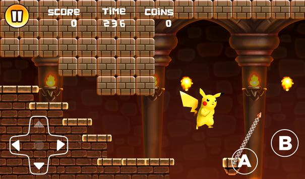 Pikachu Advuntre renner screenshot 3