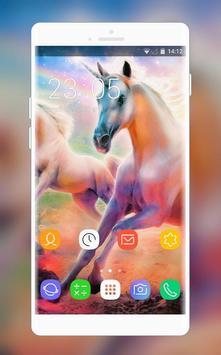 Unicorn Theme for Nokia Lumia Wallpaper poster