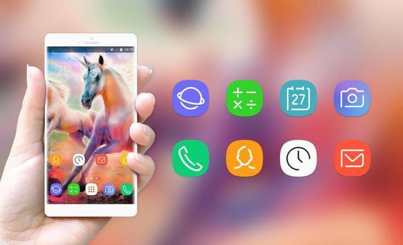Unicorn Theme for Nokia Lumia Wallpaper screenshot 3