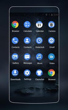 Theme for Nokia 8: Galaxy Wallpaper screenshot 1