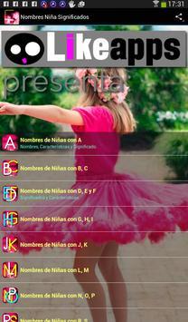 NOMBRES DE NIÑA Y SIGNIFICADO screenshot 7