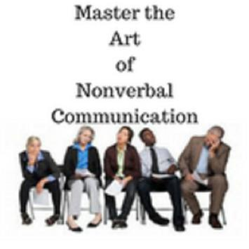 Non verbal communication poster