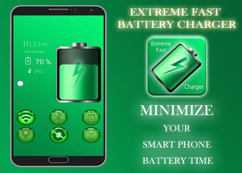 Extreme Fast Battery Charger poster