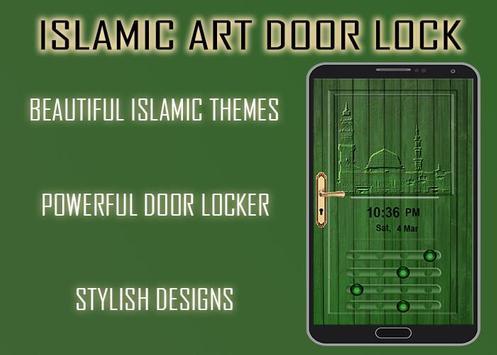 Islamic Art Door poster