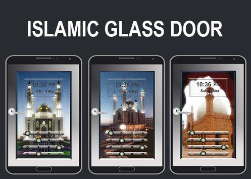Islamic Design Glass Door Lock apk screenshot