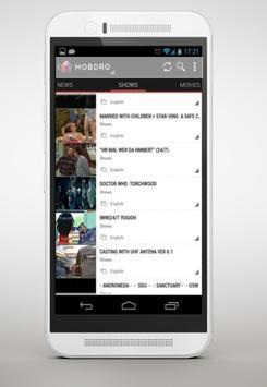 Mobdro HD TV screenshot 1