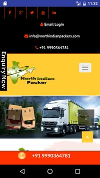 North Indian Packer Testing poster