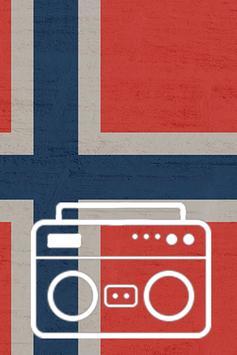 Norway Radio Noruega poster