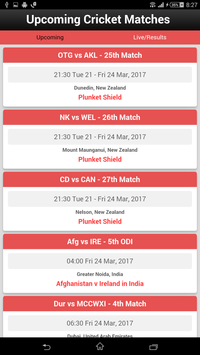 Live Cricket Score screenshot 2