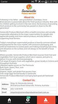 Somerville Produce Merchant screenshot 2