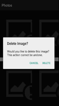 Fake Gallery Deleter apk screenshot